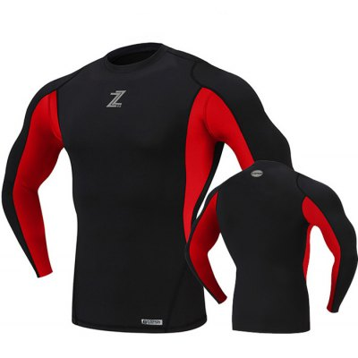 D - ZEFRON Men Compression Long Sleeve TopWeight Lifting Clothes<br>D - ZEFRON Men Compression Long Sleeve Top<br><br>Brand: D-ZEFRON<br>Types: Long Sleeves<br>Size: 2XL,3XL,L,M,S,XL<br>Features: Breathable,High elasticity,Keep Warm<br>Gender: Men<br>Material: Spandex<br>Color: Black,Gray,Red<br>Product weight: 0.200 kg<br>Package weight: 0.250 kg<br>Package size: 26.00 x 22.00 x 3.00 cm / 10.24 x 8.66 x 1.18 inches<br>Package Content: 1 x D-ZEFRON Men Compression Long Sleeve Top