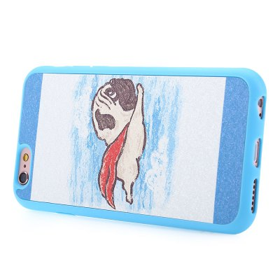 Durable Back Case for iPhone 6 Plus / 6S Plus TPU Material Cartoon Pattern