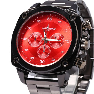 Shiweibao J1210 Decorative Sub-dial Quartz Male WatchMens Watches<br>Shiweibao J1210 Decorative Sub-dial Quartz Male Watch<br><br>Brand: Shiweibao<br>Watches categories: Male table<br>Watch style: Fashion<br>Style elements: Stainless Steel<br>Available color: Red,Blue,Brown,Silver,Black<br>Movement type: Quartz watch<br>Shape of the dial: Round<br>Display type: Analog<br>Case material: Alloy<br>Band material: Steel<br>Clasp type: Folding clasp with safety<br>Special features: Decorating small sub-dials<br>The dial thickness: 1.7 cm / 0.67 inches<br>The dial diameter: 4.5 cm / 1.77 inches<br>The band width: 2.0 cm / 0.79 inches<br>Product weight: 0.118 kg<br>Package weight: 0.148 kg<br>Product size (L x W x H): 22.000 x 5.000 x 1.700 cm / 8.661 x 1.969 x 0.669 inches<br>Package size (L x W x H): 11.500 x 6.000 x 2.700 cm / 4.528 x 2.362 x 1.063 inches<br>Package Contents: 1 x Shiweibao J1210 Male Watch