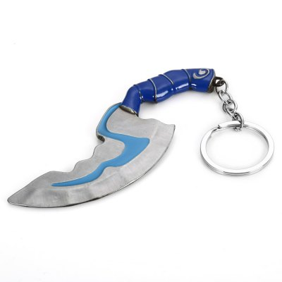 Jump Knife Style Key Ring