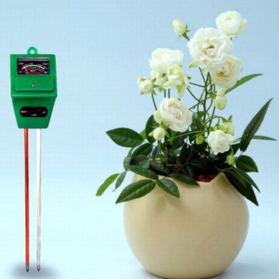 3 in 1 Soil Tester for pH Humidity Light Monitor