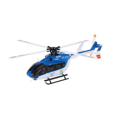 XK K124 6CH 3D Aerobatic Flybarless Brushless RC Helicopter RTF