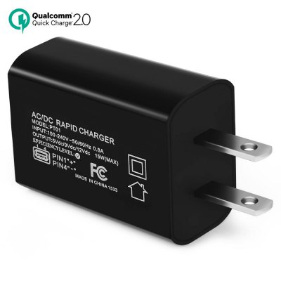 Qualcomm Certificated QC2.0 Quick Wall Charger US Plug