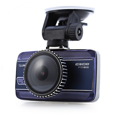 F10 5MP 1080P Full HD Car DVR Camera RecorderCar DVR<br>F10 5MP 1080P Full HD Car DVR Camera Recorder<br><br>Model: F10<br>Type: Full HD Dashcam<br>Chipset Name: Novatek<br>Chipset: Novatek 96650<br>Max External Card Supported: TF 32G (not included)<br>Class Rating Requirements: Class 10 or Above<br>Screen size: 3.0inch<br>Screen type: LCD<br>Battery Type: Built-in<br>Charge way: Car charger<br>Image Sensor: CMOS<br>Camera Pixel : 5MP<br>ISO: Auto<br>Special function: AV-Out,G-sensor,Loop recording,Microphone,Motion Detection,Time and date display,USB function,WDR<br>Video format: AVI<br>Video Resolution: 1080P (1920 x 1080),1440 x 1080,720P (1280 x 720),848 x 480,VGA (640 x 480)<br>Video System: NTSC,PAL<br>Video Output : AV-Out<br>Audio System : Built-in microphone/speacker (AAC)<br>Exposure Compensation: +1,+1/3,+2,+4/3,+5/3,-1,-1/3,-2,-2/3,-4/3,-5/3,0,2/3<br>Loop-cycle Recording : Yes<br>Loop-cycle Recording Time: 10min,1min,2min,3min,5min,OFF<br>Motion Detection: Yes<br>G-sensor: Yes<br>WDR: Yes<br>USB Function: PC-Camera,USB-Disk<br>Time Stamp: Yes<br>Interface Type: AV-Out,Micro USB,TF Card Slot<br>Language: Deutsch,English,French,German,Italian,Japanese,Korean,Portuguese,Simplified Chinese,Spanish,Traditional Chinese<br>Frequency: 50Hz,60Hz<br>Operating Temp.: -20 - 65 centigrade degree<br>Product weight: 0.111 kg<br>Package weight: 0.538 kg<br>Product size (L x W x H): 9.000 x 3.500 x 5.500 cm / 3.543 x 1.378 x 2.165 inches<br>Package size (L x W x H): 24.000 x 16.000 x 9.000 cm / 9.449 x 6.299 x 3.543 inches<br>Package Contents: 1 x Car DVR, 1 x Suction Cup Mounting Bracket, 1 x Car Charger