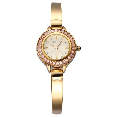 Kimio KW6031S Diamond Quartz Ladies Bracelet Chain Watch