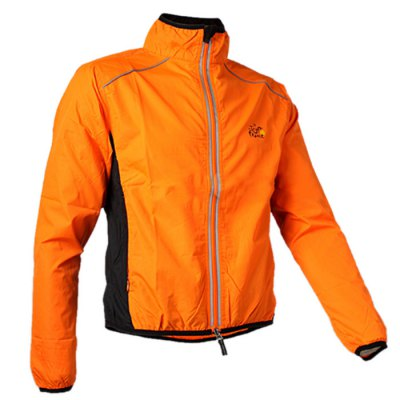 ROCKBROS Unisex Summer Cycling RaincoatCycling Clothings<br>ROCKBROS Unisex Summer Cycling Raincoat<br><br>Brand: ROCKBROS<br>Type: Long Sleeve Tops<br>Suitable Crowds: Unisex<br>Feature: Anti-UV,Breathable,Windproof<br>Color: Green, Red, Orange, Yellow, Black<br>Material: Polyester<br>Size: 4XL,L,M,S,XL,XXL,XXXL<br>Product weight: 0.200 kg<br>Package weight: 0.250 kg<br>Package size (L x W x H): 16.00 x 16.00 x 6.00 cm / 6.30 x 6.30 x 2.36 inches<br>Package Contents: 1 x ROCKBROS Summer Unisex Cycling Raincoat