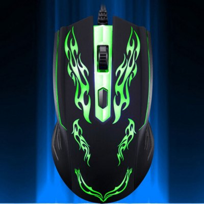 Spotlight Leopard Wired USB CF Gaming MouseMouse<br>Spotlight Leopard Wired USB CF Gaming Mouse<br><br>Material: ABS<br>Interface: USB 2.0<br>Resolution: 1000DPI<br>Connection Type: Wired<br>Powered by: USB Power<br>Supports System : Linux,Win 2000,Win 2008,Win vista,Win XP<br>Suitable for: Andriod TV Box,Google TV Box,PC<br>Color: Black<br>Product weight: 0.012 kg<br>Package weight: 0.172 kg<br>Product size: 13.800 x 7.400 x 3.800 cm / 5.433 x 2.913 x 1.496 inches<br>Package size: 18.000 x 8.400 x 4.800 cm / 7.087 x 3.307 x 1.890 inches<br>Package Contents: 1 x Spotlight Leopard Wired USB Computer Mouse