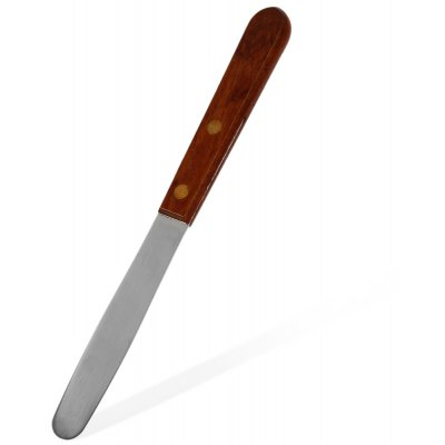 Dental Plaster Spatula with Wooden Handle