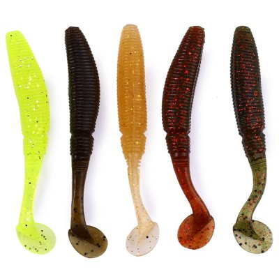 12Pcs 50mm Trulinoya Soft Fish Lure