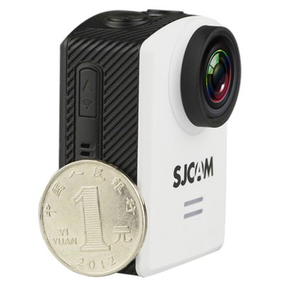 Original SJCAM M20 2160P 16MP 166 Adjustable Degree WiFi Action Camera Sport DV RecorderAction Cameras<br>Original SJCAM M20 2160P 16MP 166 Adjustable Degree WiFi Action Camera Sport DV Recorder<br><br>Brand: SJCAM<br>Model: M20<br>Type: Sports Camera<br>Type of Camera: 2160P<br>Chipset Name: Novatek<br>Chipset: Novatek 96660<br>Max External Card Supported: TF 32G (not included)<br>Class Rating Requirements: Class 10 or Above<br>Screen size: 1.5inch<br>Screen type: LCD<br>Battery Type: Removable<br>Capacity: 800mAh<br>Power Supply: 5V 1A<br>Charge way: USB charge by PC<br>Working Time: 65min (WiFi on) / 75min (WiFi off)<br>Wide Angle: 166 degree wide angle lens<br>ISO: Auto,ISO100,ISO1600,ISO200,ISO400,ISO800<br>Decode Format: H.264<br>Video format: MOV,MP4<br>Video Resolution: 1080P (1920 x 1080),2K(2560 x 1440)30fps,4K (2880 x 2160),720P (1280 x 720),VGA (640 x 480)<br>Video System: NTSC,PAL<br>Video Output : HDMI<br>Exposure Compensation: +1,+1/3,+2,+4/3,+5/3,-1,-1/3,-2,-2/3,-4/3,-5/3,0,2/3<br>White Balance Mode: Auto,Cloudy,Daylight,Fluorescent,Tungsten<br>WIFI: Yes<br>Loop-cycle Recording : Yes<br>Loop-cycle Recording Time: 10min,3min,5min,OFF<br>WDR: Yes<br>Interface Type: Micro HDMI,Micro USB,TF Card Slot<br>Language: Cesky,Danish,Deutsch,English,French,Hungarian,Italian,Japanese,Korean,Polski,Portuguese,Russian,Simplified Chinese,Slovak,Spanish,Traditional Chinese,Turkish<br>Frequency: 50Hz,60Hz<br>Product weight: 0.054 kg<br>Package weight: 0.654 kg<br>Product size (L x W x H): 5.40 x 4.00 x 2.90 cm / 2.13 x 1.57 x 1.14 inches<br>Package size (L x W x H): 27.00 x 14.90 x 8.30 cm / 10.63 x 5.87 x 3.27 inches<br>Package Contents: 1 x Original SJCAM M20 2160P Action Camera + Waterproof Case + Base Mount + Long Screw, 1 x Quick Release Buckle + Screw, 2 x Curved Adhesive Mount, 2 x Flat Adhesive Mount, 1 x Short Connector + Shor