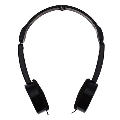 Retractable Foldable Over-ear Kids Headphone with Mic Stereo Bass