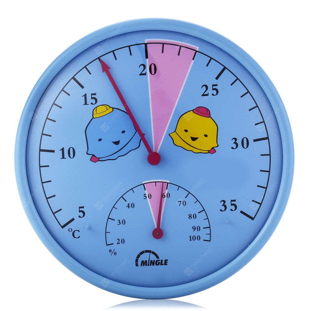 Mingle TH101A Baby Room Hygrometer Thermometer 170073501