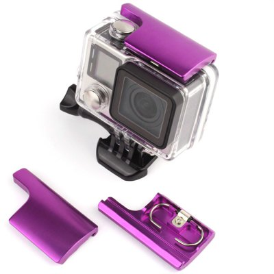 CP-GP0002 1PC CNC Aluminum Alloy Waterproof Housing Lock Buckle for GoPro Hero 4 3+