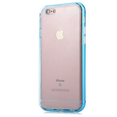 Transparent TPU Case for iPhone 6 / 6S Metal Frame