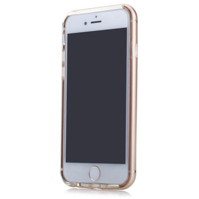 Back Case for iPhone 6 Plus / 6S Plus TPU Material Transparent Metal FrameiPhone Cases/Covers<br>Back Case for iPhone 6 Plus / 6S Plus TPU Material Transparent Metal Frame<br><br>Compatible for Apple: iPhone 6 Plus,iPhone 6S Plus<br>Features: Back Cover<br>Material: Polycarbonate,TPU<br>Style: Transparent<br>Color: Black,Blue,Gold,Rose,Rose Gold,Silver<br>Product weight: 0.034KG<br>Package weight: 0.098 KG<br>Product size (L x W x H): 16.10 x 8.40 x 0.90 cm / 6.34 x 3.31 x 0.35 inches<br>Package size (L x W x H): 19.00 x 9.50 x 1.10 cm / 7.48 x 3.74 x 0.43 inches<br>Package Contents: 1 x Protective Case
