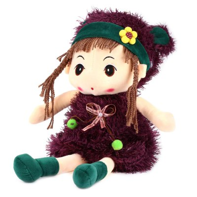 16 Inch Stuffed Girl Doll Plush Toys for KidsStuffed Cartoon Toys<br>16 Inch Stuffed Girl Doll Plush Toys for Kids<br><br>Materials: Plush<br>Theme: Other<br>Prototype of Character: Fairy Tales<br>Series: Fantasy,Fashion<br>Product weight: 0.194 kg<br>Package weight: 0.226 kg<br>Product size: 40.00 x 18.00 x 13.00 cm / 15.75 x 7.09 x 5.12 inches<br>Package size: 42.00 x 20.00 x 15.00 cm / 16.54 x 7.87 x 5.91 inches<br>Package Contents: 1 x Stuffed Doll Plush Girl Toy