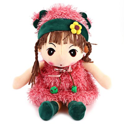 16 Inch Stuffed Girl Doll Plush Toys for Kids