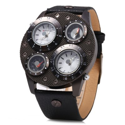 Shiweibao J1145 Male Dual Quartz Movt  Compass WatchMens Watches<br>Shiweibao J1145 Male Dual Quartz Movt  Compass Watch<br><br>Brand: Shiweibao<br>Watches categories: Male table<br>Watch style: Fashion<br>Available color: Black,Brown,Gray<br>Movement type: Double-movtz<br>Shape of the dial: Round<br>Display type: Analog<br>Case material: Stainless Steel<br>Band material: Leather<br>Clasp type: Pin buckle<br>Special features: Compass,Decorating thermometer<br>The dial thickness: 1 cm / 0.39 inches<br>The dial diameter: 5.1 cm / 2.01 inches<br>The band width: 2.6 cm / 1.02 inches<br>Wearable length: 20.5 - 25 cm / 8.07 - 9.84 inches<br>Product weight: 0.079 kg<br>Package weight: 0.109 kg<br>Product size (L x W x H): 27.20 x 5.10 x 1.00 cm / 10.71 x 2.01 x 0.39 inches<br>Package size (L x W x H): 28.20 x 6.10 x 2.00 cm / 11.10 x 2.40 x 0.79 inches<br>Package Contents: 1 x Shiweibao Watch