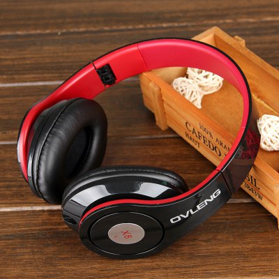 OVLENG X8 Folding Wired Computer Headset