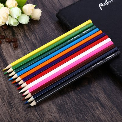 24PCS 12 Color Children Drawing Pen PencilPainting Supplies<br>24PCS 12 Color Children Drawing Pen Pencil<br><br>Available color: Multi-color<br>Material: Wood<br>Product weight: 0.060 kg<br>Package weight: 0.191 kg<br>Package size (L x W x H): 19.40 x 6.80 x 3.40 cm / 7.64 x 2.68 x 1.34 inches<br>Package Contents: 24 x 12-color Painting Pen Student Stationery