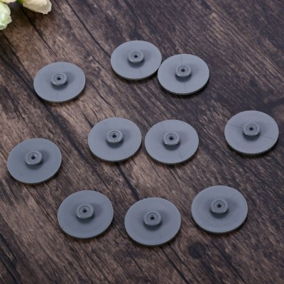 10PCS Deli Single Hole Binding Machine Gasket Drill Pad10PCS Deli Single Hole Binding Machine Gasket Drill Pad<br><br>Material: Plastic<br>Color: Gray<br>Product weight: 0.020 kg<br>Package weight: 0.037 kg<br>Product size (L x W x H): 2.90 x 2.90 x 0.60 cm / 1.14 x 1.14 x 0.24 inches<br>Package size (L x W x H): 14.20 x 5.00 x 1.60 cm / 5.59 x 1.97 x 0.63 inches<br>Package Contents: 10 x Deli Single Hole Binding Machine Gasket Drill Pad