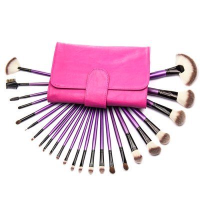 24PCS Synthetic Makeup Brushes
