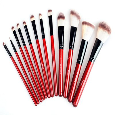 12PCS Goat Makeup BrushMakeup Brushes &amp; Tools<br>12PCS Goat Makeup Brush<br><br>Type: Makeup Brushes<br>Features: Easy to Carry,Environment Friendly,Lightweight<br>Product weight: 0.250 kg<br>Package weight: 0.330 kg<br>Product size (L x W x H): 28.00 x 23.00 x 4.00 cm / 11.02 x 9.06 x 1.57 inches<br>Package size (L x W x H): 30.00 x 25.00 x 5.00 cm / 11.81 x 9.84 x 1.97 inches<br>Package Contents: 12 x Makeup Brush, 1 x Foldable Storage Bag