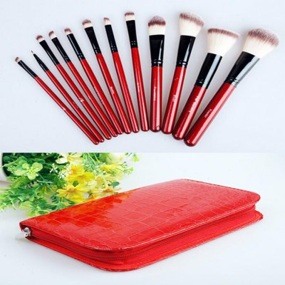 12PCS Goat Makeup Brush