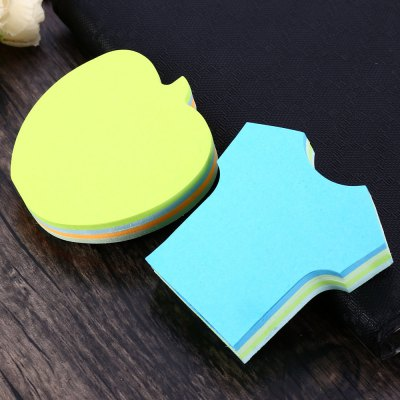 2PCS Rhodia Clothing Shaped Reusable Sticky Note Notepaper