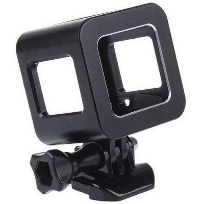CP-GPH4 Aluminum Alloy Protective Frame CageAction Cameras &amp; Sport DV Accessories<br>CP-GPH4 Aluminum Alloy Protective Frame Cage<br><br>Accessory type: Frame<br>Apply to Brand: Gopro<br>Compatible with: GoPro Hero 4 Session<br>Material: Alluminum Alloy<br>Package Contents: 1 x Frame Cage for GoPro Hero 4 Session, 1 x Screw Driver, 1 x Screw, 1 x Quick Release Buckle, 1 x Hang Rope<br>Package size (L x W x H): 14.00 x 10.00 x 10.00 cm / 5.51 x 3.94 x 3.94 inches<br>Package weight: 0.200 kg<br>Product size (L x W x H): 8.50 x 6.00 x 5.50 cm / 3.35 x 2.36 x 2.17 inches<br>Product weight: 0.100 kg