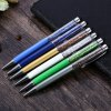 G006 2 in 1 Bling Touch Screen Rhinestones Capacitive Stylus Ball Pen 0.7mm deal