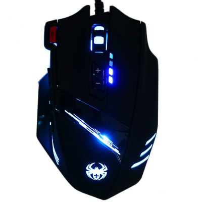 Фотография ZELOTES C-12 Wired USB Optical Game Mouse