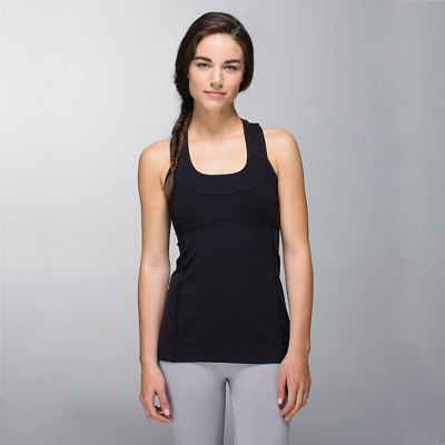 Female Exercising Yoga Vest