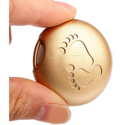 Round Shaped Bluetooth 4.0 Anti-lost Alarm with Footprint