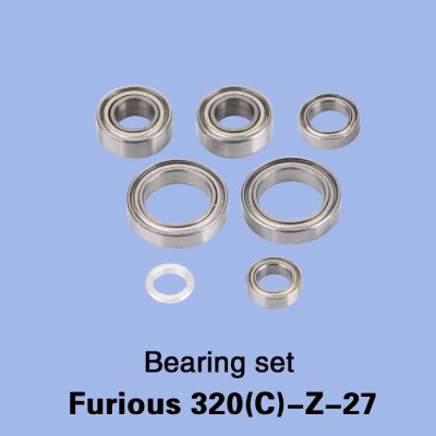 Spare Bearing Set Fitting for Walkera Furious 320 320G RC Model