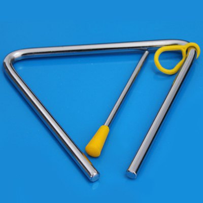 Alloy Triangle Educational Toy Musical Instrument Rhythm Band for Kid