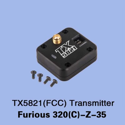 Extra TX5821 Transmitter for Walkera Furious 320 320G MulticopterMulti Rotor Parts<br>Extra TX5821 Transmitter for Walkera Furious 320 320G Multicopter<br><br>Brand: Walkera<br>Type: Transmitter<br>Package weight: 0.055 kg<br>Package size (L x W x H): 15.00 x 8.00 x 5.00 cm / 5.91 x 3.15 x 1.97 inches<br>Package Contents: 1 x TX5821 Transmitter, 4 x Screw