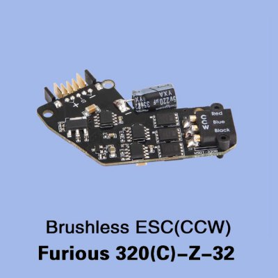 Extra CCW Brushless ESC for Walkera Furious 320 320G Multicopter RC Drone