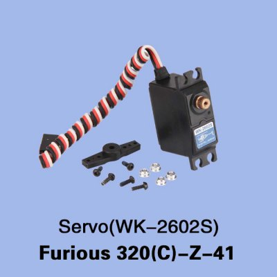 Spare WK - 2602S Servo Set Fitting for Walkera Furious 320 320G RC Model