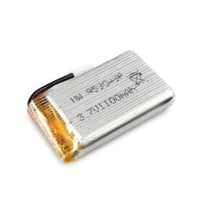 Extra 3.7V 1100mAh Battery Fitting for JJRC H5P Quadcopter ModelRC Quadcopter Parts<br>Extra 3.7V 1100mAh Battery Fitting for JJRC H5P Quadcopter Model<br><br>Brand: JJRC<br>Package Contents: 1 x 3.7V 1100mAh Battery<br>Package size (L x W x H): 6.00 x 4.00 x 3.00 cm / 2.36 x 1.57 x 1.18 inches<br>Package weight: 0.050 kg<br>Type: Batteries