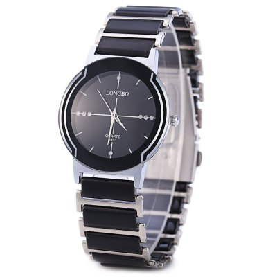 Longbo 8493 Women Quartz WatchWomens Watches<br>Longbo 8493 Women Quartz Watch<br><br>Brand: Longbo<br>Watches categories: Female table<br>Style: Fashion&amp;Casual<br>Movement type: Quartz watch<br>Shape of the dial: Round<br>Display type: Analog<br>Case material: Stainless Steel<br>Band material: Stainless Steel<br>Clasp type: Folding clasp with safety<br>Water resistance : 30 meters<br>The dial thickness: 0.6 cm / 0.24 inches<br>The dial diameter: 2.6 cm / 1.02 inches<br>The band width: 1.1 cm / 0.43 inches<br>Product weight: 0.040 kg<br>Package weight: 0.080 kg<br>Product size (L x W x H): 9.00 x 3.00 x 1.00 cm / 3.54 x 1.18 x 0.39 inches<br>Package size (L x W x H): 10.00 x 4.00 x 2.00 cm / 3.94 x 1.57 x 0.79 inches<br>Package Contents: 1 x Longbo Women Quartz Watch