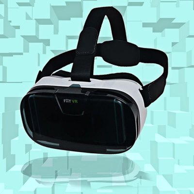 FIIT VR 3D Virtual Reality Glasses Helmet Lightweight Ergonomic Design