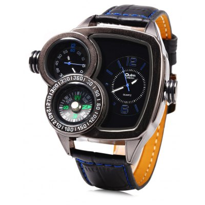 Oulm 3670 Quartz Male Watch
