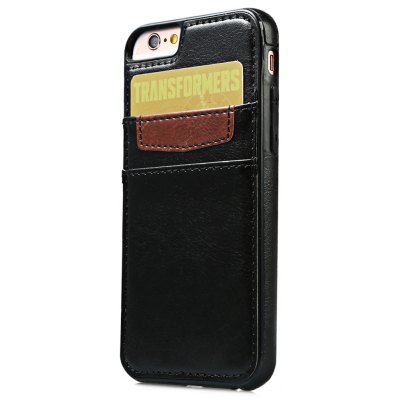 Leather Wallet Card Slot Back Case Cover for iPhone 6 / 6s