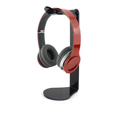 PMMA Headset Stand Organic Glass CabinetHeadphone Accessories<br>PMMA Headset Stand Organic Glass Cabinet<br><br>Headphone Accessories Type: Holder<br>Material: PMMA<br>Color: Black,White<br>Product weight: 0.100 kg<br>Package weight: 0.180 kg<br>Product size (L x W x H): 10.00 x 11.00 x 26.00 cm / 3.94 x 4.33 x 10.24 inches<br>Package size (L x W x H): 11.00 x 12.00 x 27.00 cm / 4.33 x 4.72 x 10.63 inches<br>Package Contents: 1 x Stand