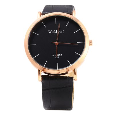 WoMaGe 408 Female Quartz Watch with Bamboo Joint Leather BandWomens Watches<br>WoMaGe 408 Female Quartz Watch with Bamboo Joint Leather Band<br><br>Brand: WoMaGe<br>Watches categories: Female table<br>Available color: Black,Brown,Purple,Red,White<br>Style: Fashion&amp;Casual<br>Movement type: Quartz watch<br>Shape of the dial: Round<br>Display type: Analog<br>Case material: Stainless Steel<br>Band material: Leather<br>Clasp type: Pin buckle<br>The dial thickness: 0.6 cm / 0.23 inches<br>The dial diameter: 4.0 cm / 1.57 inches<br>The band width: 1.8 cm / 0.71 inches<br>Wearable length: 17 - 21 cm / 6.69 - 8.27 inches<br>Product weight: 0.031 kg<br>Package weight: 0.061 kg<br>Product size (L x W x H): 24.00 x 4.00 x 0.60 cm / 9.45 x 1.57 x 0.24 inches<br>Package size (L x W x H): 25.00 x 5.00 x 1.60 cm / 9.84 x 1.97 x 0.63 inches<br>Package Contents: 1 x WoMaGe 408 Watch