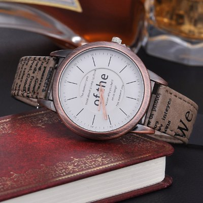 KEZZI Japan Quartz Double Scales Unisex Watch Leather BandUnisex Watches<br>KEZZI Japan Quartz Double Scales Unisex Watch Leather Band<br><br>Brand: Kezzi<br>People: Unisex table<br>Watch style: Fashion<br>Available color: Brown,Gray,Khaki,White<br>Shape of the dial: Round<br>Movement type: Quartz watch<br>Display type: Analog<br>Case material: Stainless Steel<br>Band material: Leather<br>Clasp type: Pin buckle<br>The dial thickness: 1.1 cm / 0.43 inches<br>The dial diameter: 4 cm / 1.57 inches<br>The band width: 1.6 cm / 0.63 inches<br>Product weight: 0.040 kg<br>Package weight: 0.060 kg<br>Product size (L x W x H): 22.50 x 4.20 x 1.10 cm / 8.86 x 1.65 x 0.43 inches<br>Package size (L x W x H): 23.50 x 5.20 x 2.10 cm / 9.25 x 2.05 x 0.83 inches<br>Package Contents: 1 x KEZZI Unisex Watch
