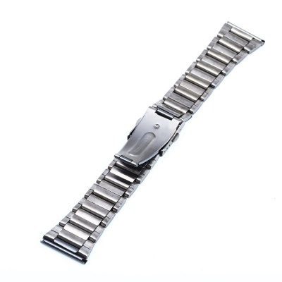 26mm Folding Clasp with Safety Stainless Steel Watch StrapWatch Accessories<br>26mm Folding Clasp with Safety Stainless Steel Watch Strap<br><br>Type: Normal watch band<br>Features: Stainless steel<br>Color: Black<br>Product weight: 0.060 kg<br>Package weight: 0.080 kg<br>Product size (L x W x H): 17.90 x 2.60 x 0.60 cm / 7.05 x 1.02 x 0.24 inches<br>Package size (L x W x H): 18.90 x 3.60 x 1.60 cm / 7.44 x 1.42 x 0.63 inches<br>Package Contents: 1 x Stainless Steel Watchband