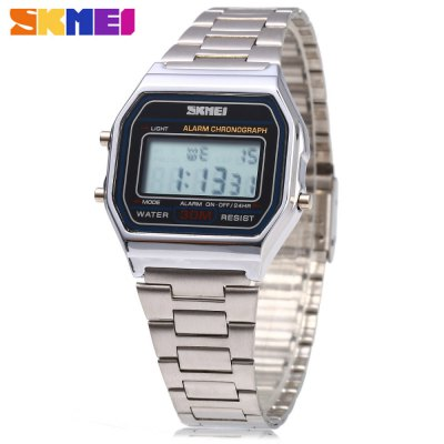 SKMEI 1123 Men Business LED Digital Watch