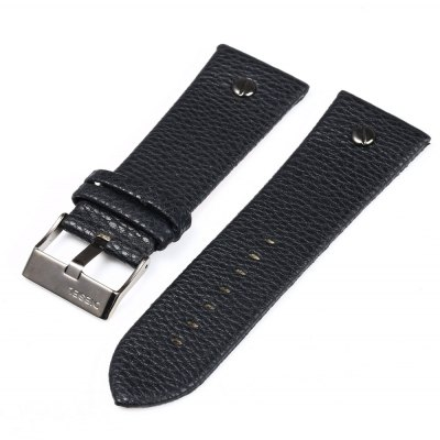 30mm Pin Buckle Leather Strap